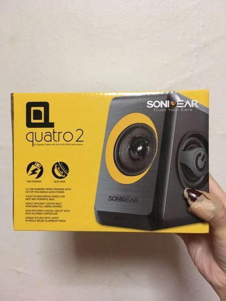 Sonic Gear Quatro 2 speakers Singapore
