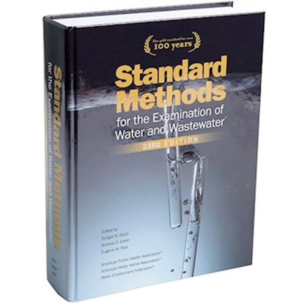Standard Methods for The Examination of Water and Wastewater - AWWA Books 23rd Edition