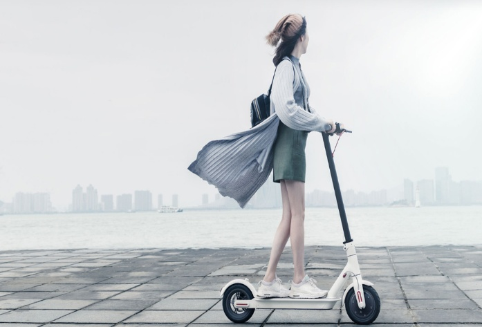 Xiaomi MiJia M365 Electric Scooter (Black) - UL2272 approved