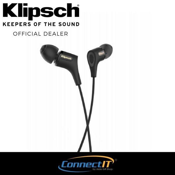 Klipsch R6 II In-Ear Headphone White In-Ear Headphone - Black