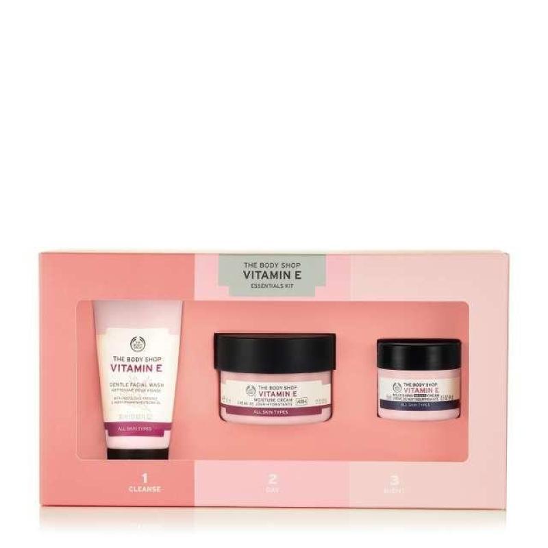 Buy The Body Shop Vitamin E Essential Kit Singapore