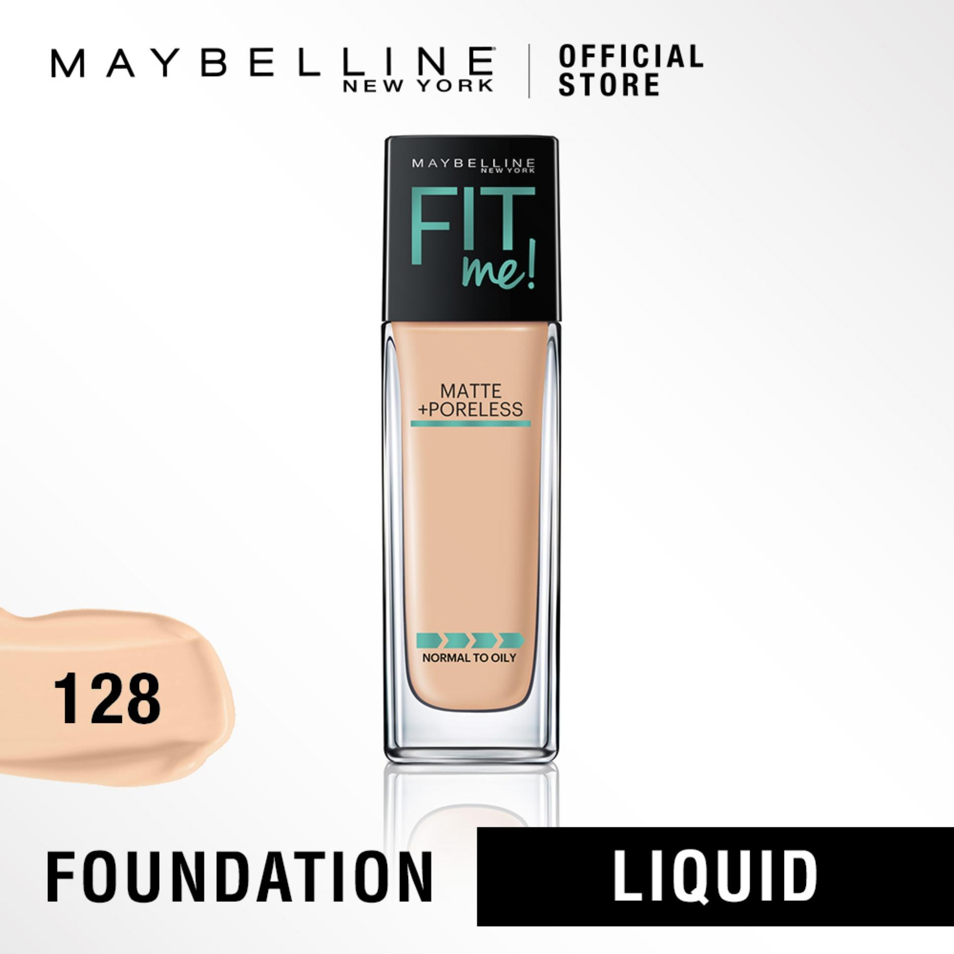 Maybelline Fit Me Matte + Poreless Foundation By Maybelline.