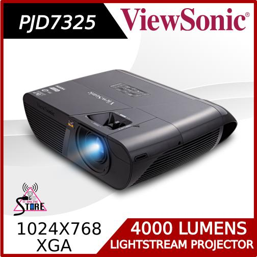 Compare Price Viewsonic Pjd7325 4 000 High Brightness With Cable Management Hood High End Lightstream Projector On Singapore