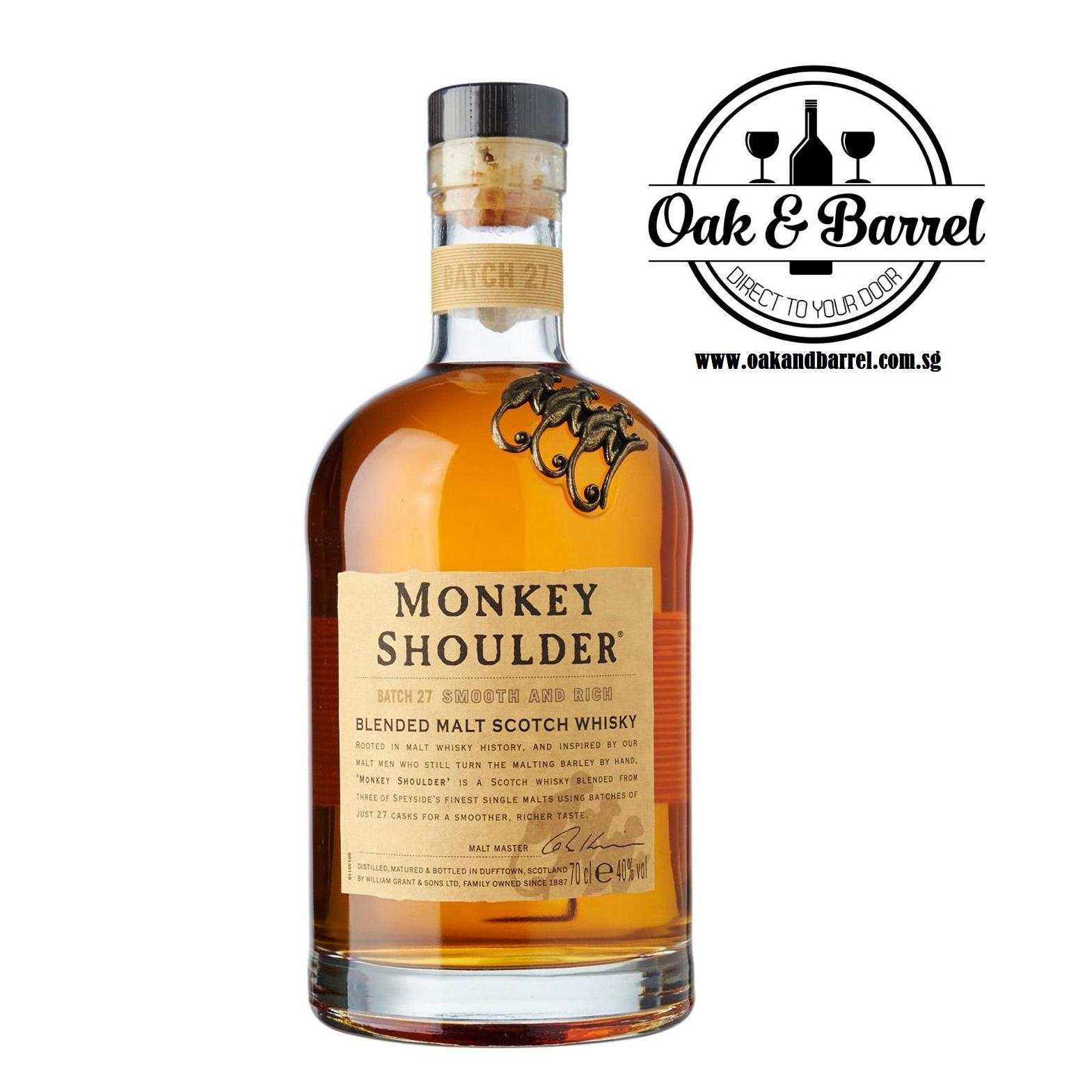 Monkey Shoulder Whisky 700Ml In Stock