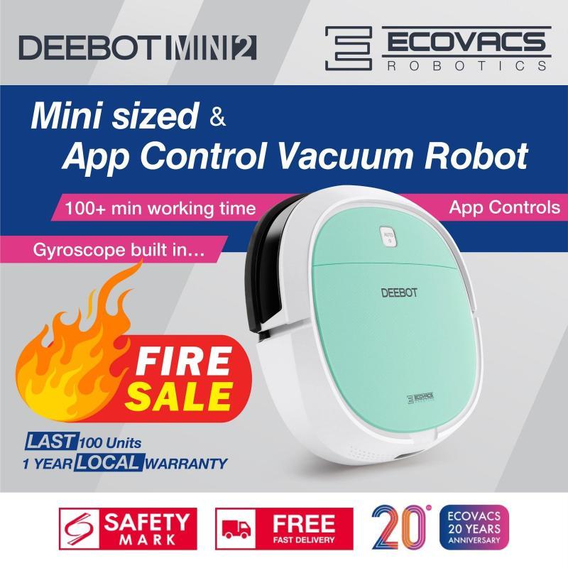 ECOVACS DEEBOT Mini 2 Robot Vacuum Cleaner Singapore