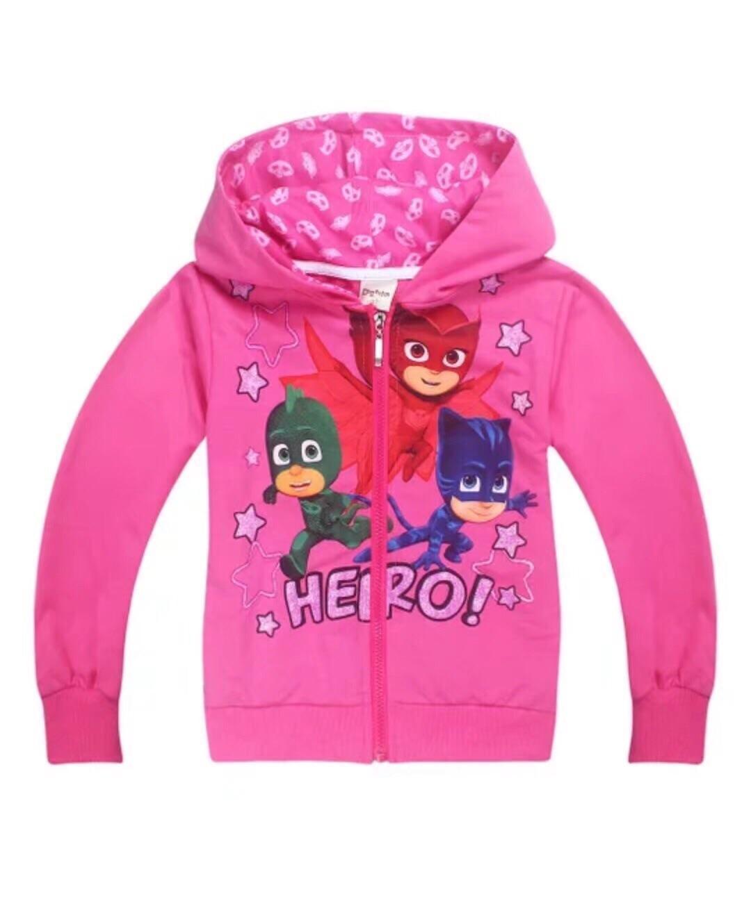 Review Kids Clothes Pj Mask Jacket Pj Mask Coat Oem On Singapore