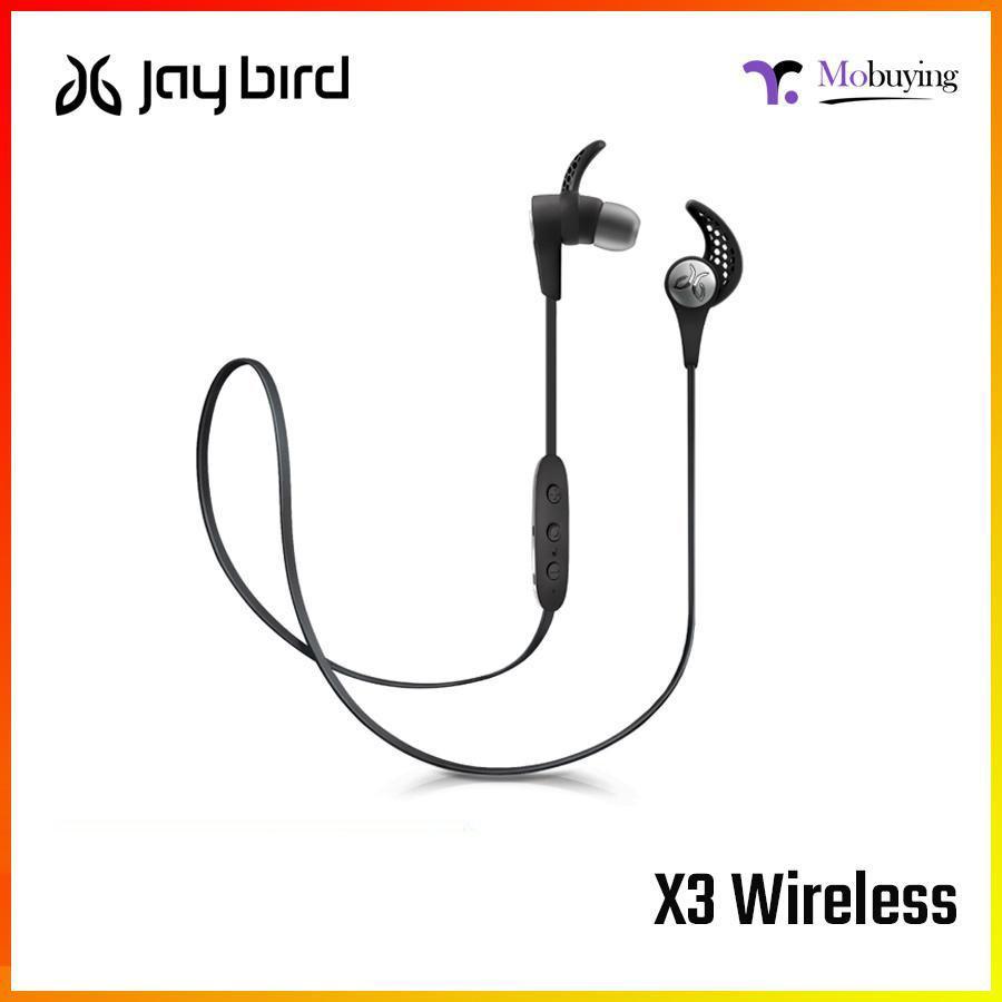 491be808476 Jaybird X3 in-Ear Wireless Bluetooth Sports Headphones Sweat Proof  Universal Fit 8 Hours Battery