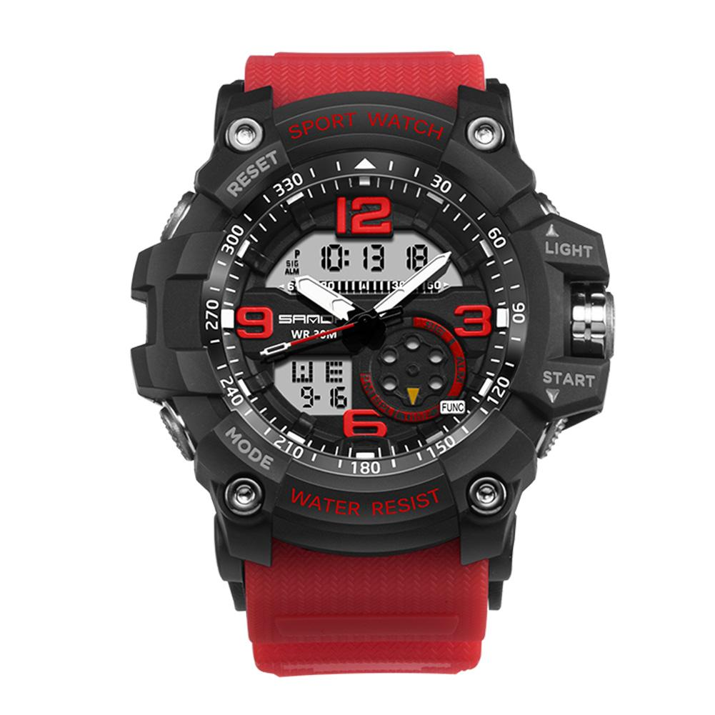 Men Watch Waterproof Military Digital Analog Quartz Sport For Sanda By Chiclife.