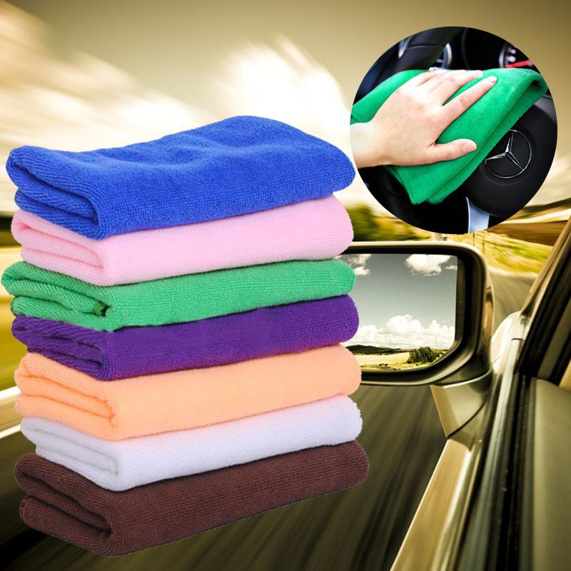 32 PCS/Set Microfiber Cleaning  Towel Cloth Duster Wipe for Car Truck Van SUV