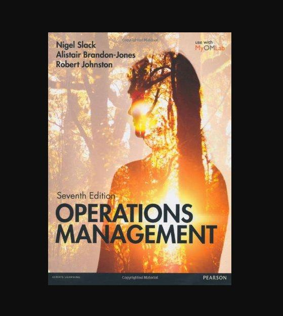 Slack: Operations Management 7th edition MyOMLab pack (7th Edition) - BK2020