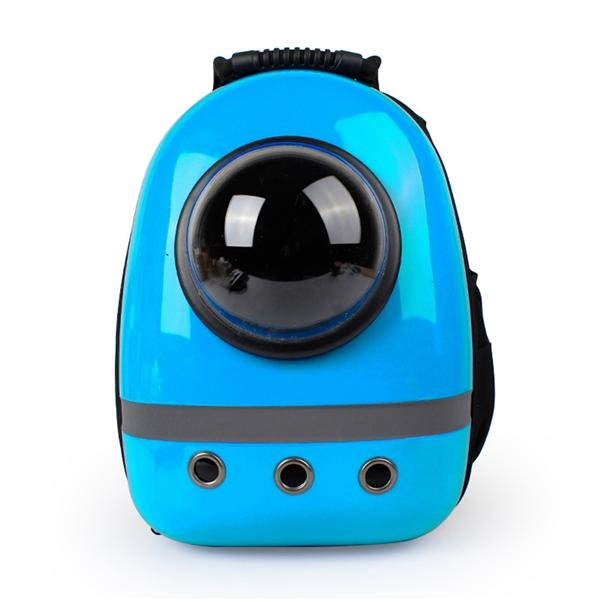 Where To Shop For Portable Travel Pet Carrier Backpack Space Capsule Bubble Waterproof Handbag Backpack For Cat And Small Dog Blue Intl