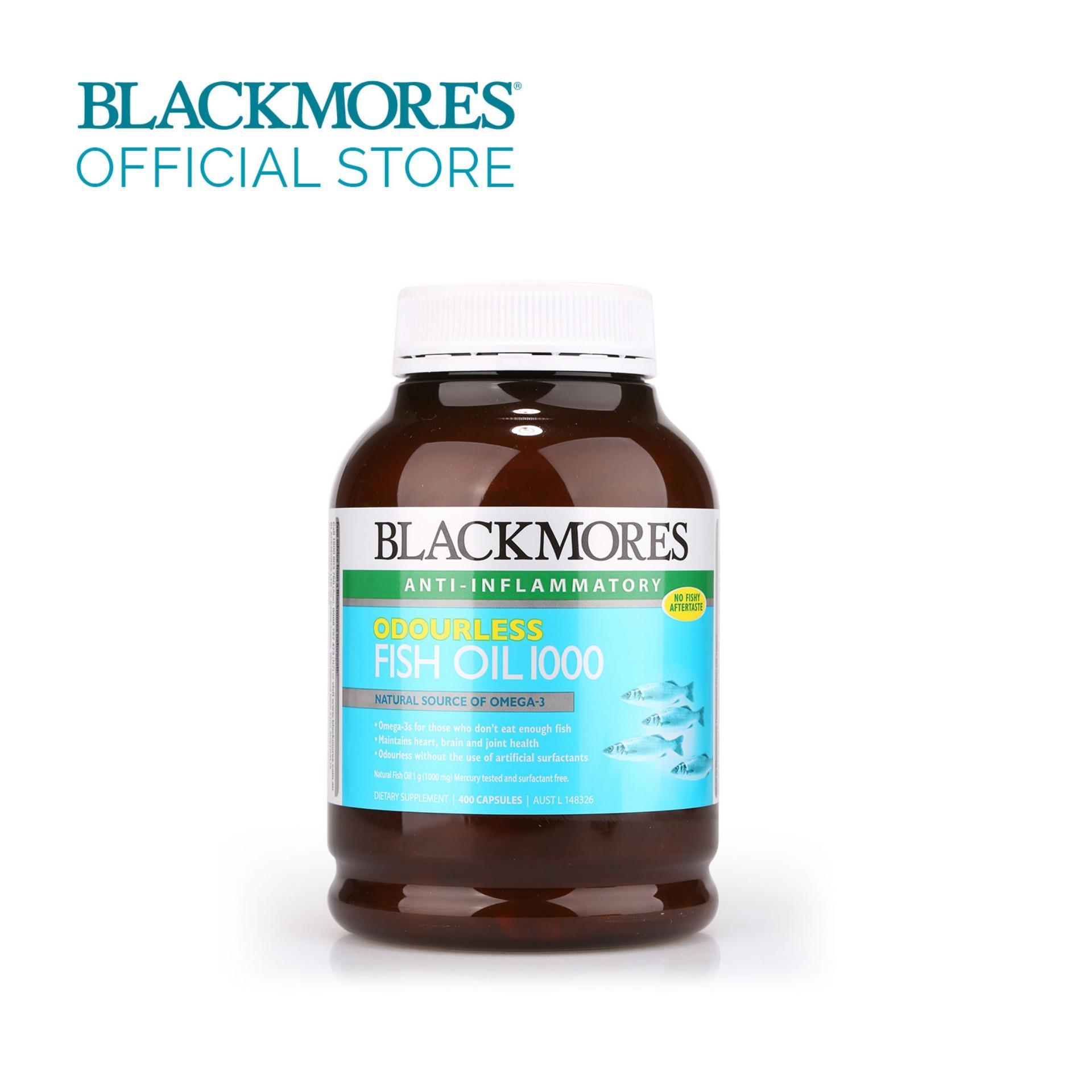 Herbs Of Gold Premium Fish Oil 1000 400 Capsules Daftar Harga Minyak Ikan Blackmores Omega 3 Black Mores Isi Odourless 400caps