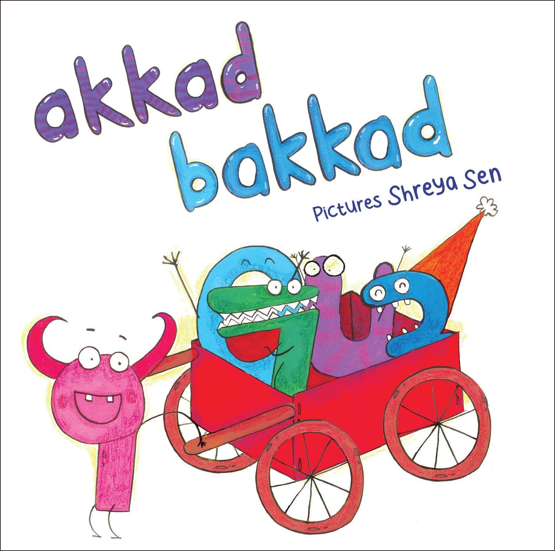 Akkad Bakkad Baby Board Books  Age_0+   (Award Winner)