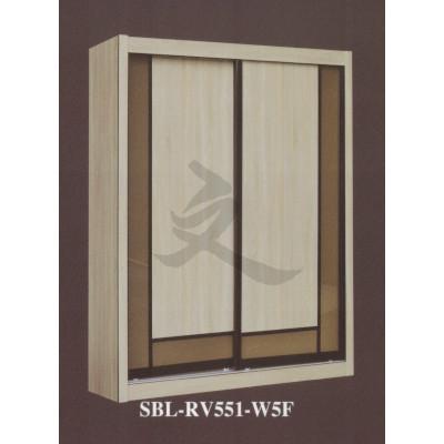 5ft Sliding Door Modular Wardrobe Cabinet Bedroom Customizable