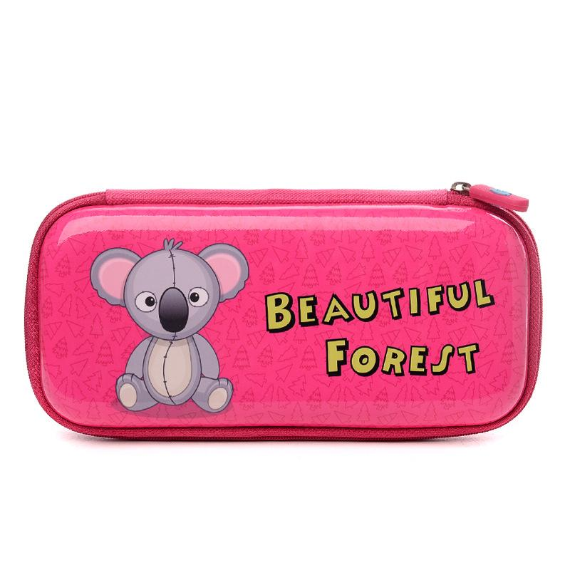 Delune Brand Pencil-Box Boys And Girls Creative Large Capacity Stationery Bag Pencil-Box Children Hard Case Pencil Case