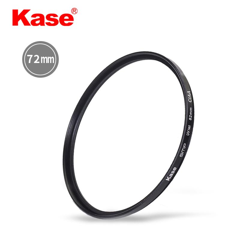 Kase UV 72 Mm Canon 18-200 15-85 Nikon 24-85 Camera Lens UV Filter
