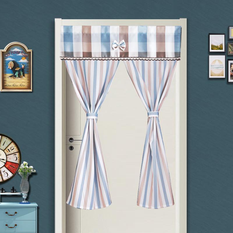 Nordic-style cotton door curtain