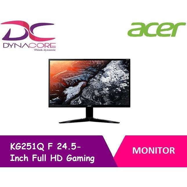 Acer Kg251Qf 24 5 Inch Full Hd Gaming Monitor With 144Hz Refresh Rate 1Ms Response Time Free Sync Best Price