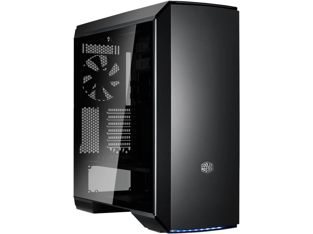 The Cheapest Cooler Master Mastercase Mc600P E Atx Casing With Tempered Glass Online