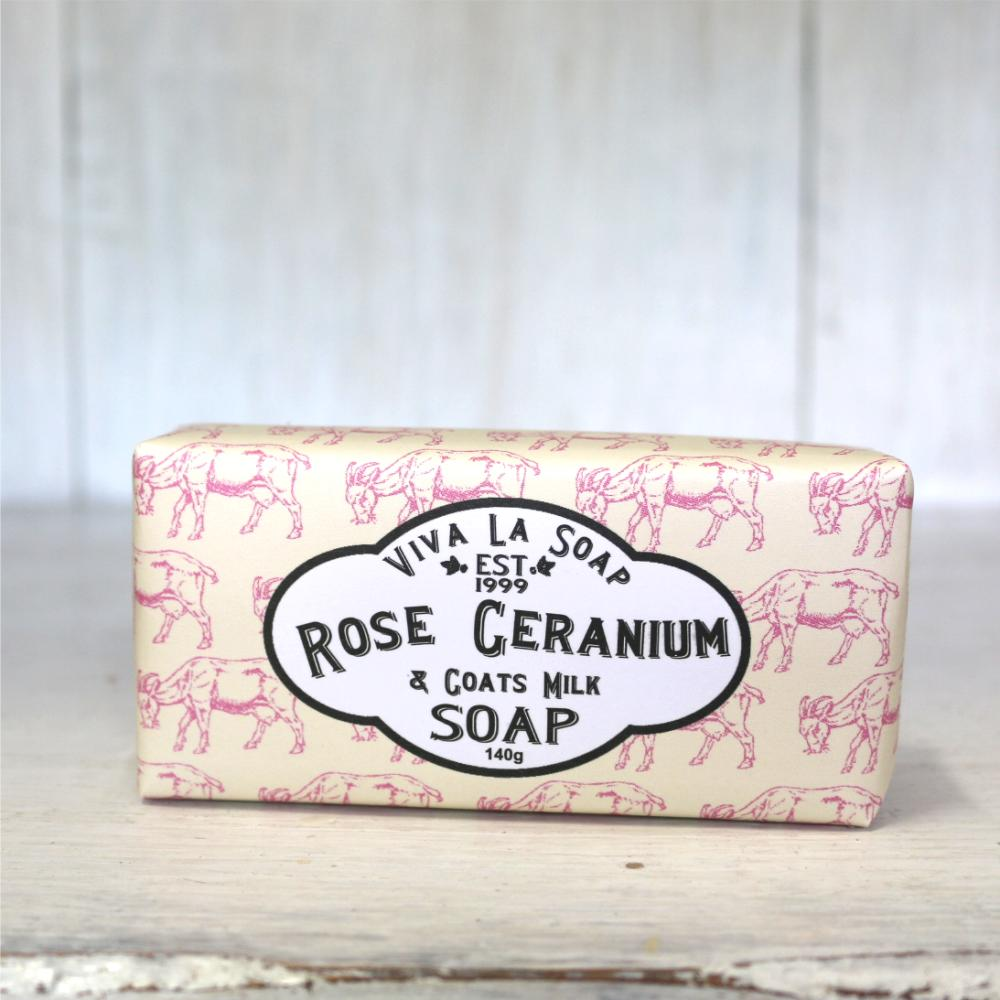Sale Viva La Soap Rose Geranium Goats Milk Viva La Body Cheap