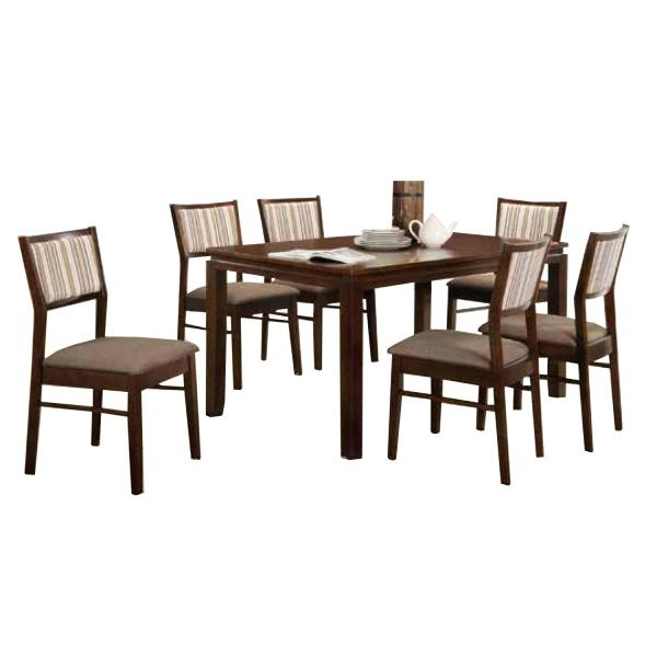 LIVING MALL_Raysha Dining Set 1+6_FREE DELIVERY