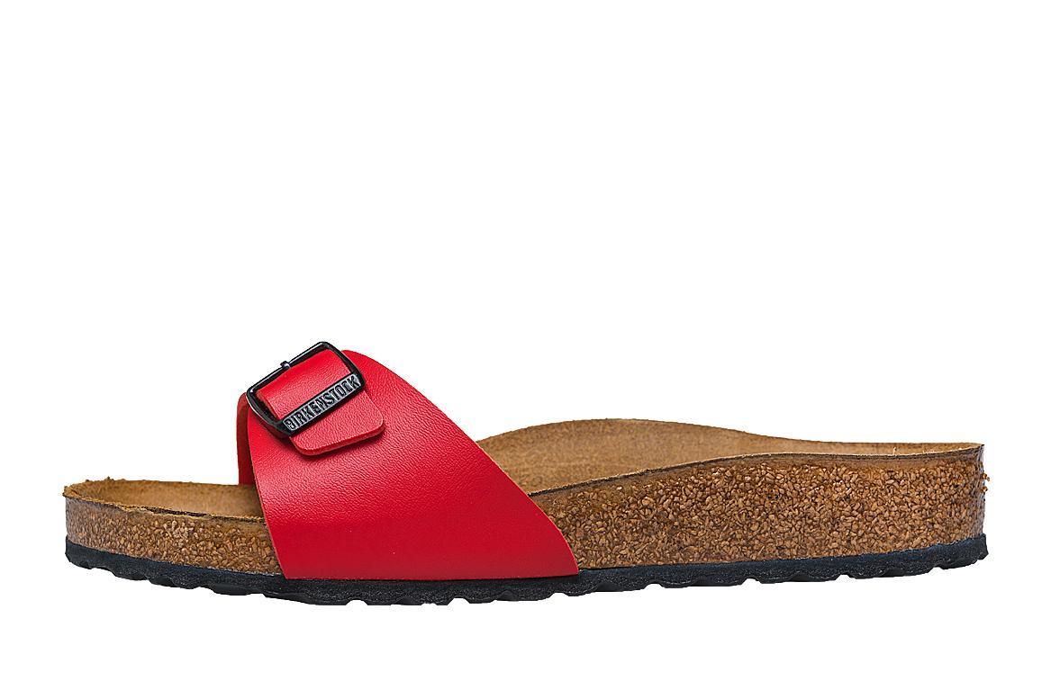 60e6c30a939 Birkenstock Madrid Cherry Women Sandals in Cherry