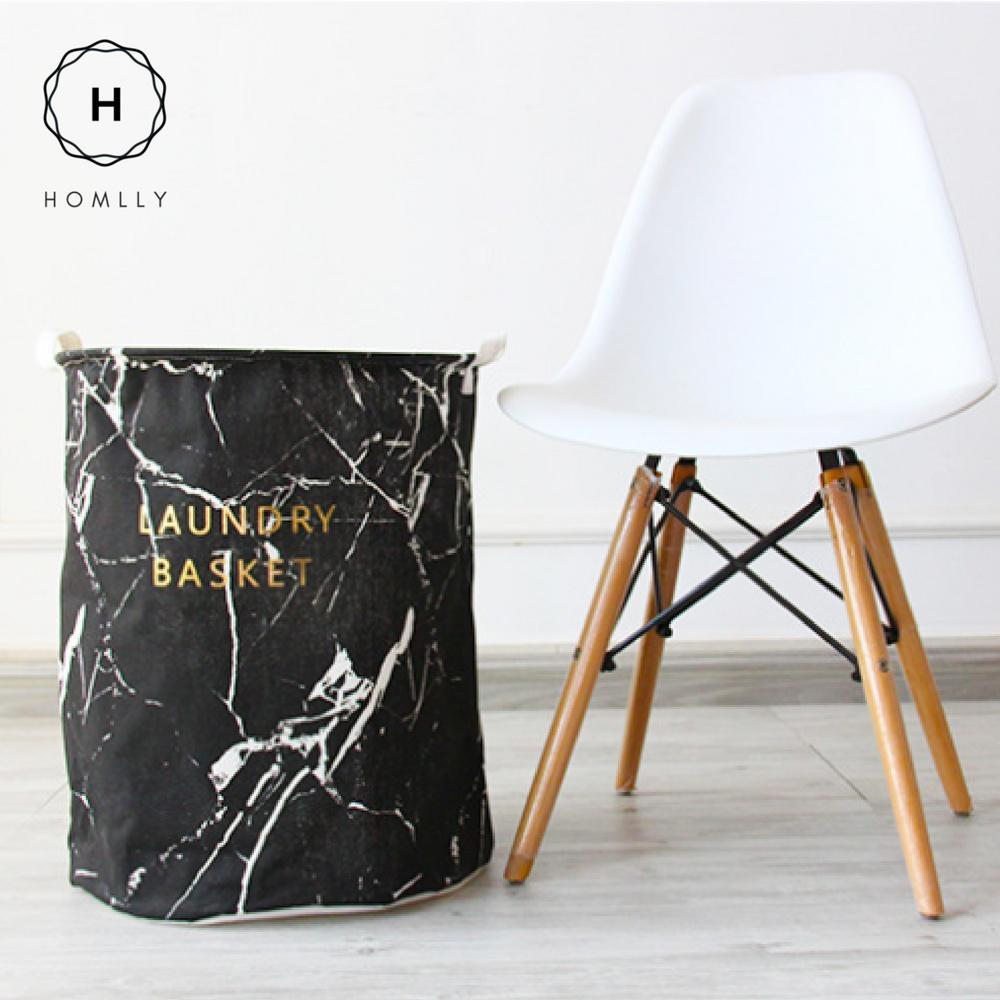 Homlly Marbi Laundry Basket