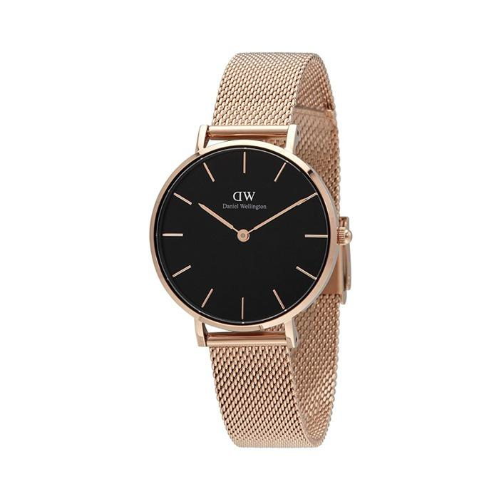 Best Buy Daniel Wellington Classic Petite Melrose Black Dial Watch 32Mm Dw00100161