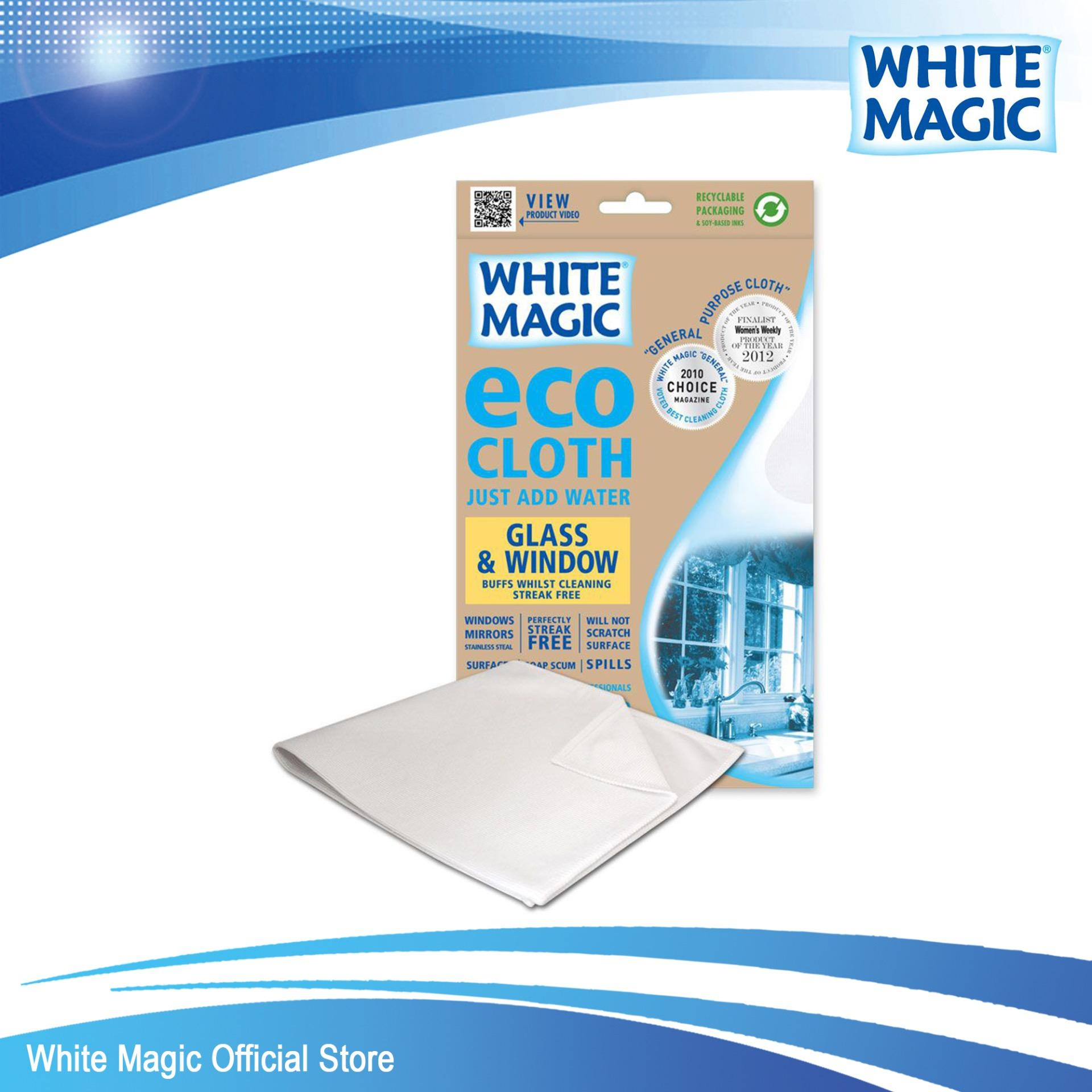 Cheaper White Magic Microfibre Glass Window Eco Cloth