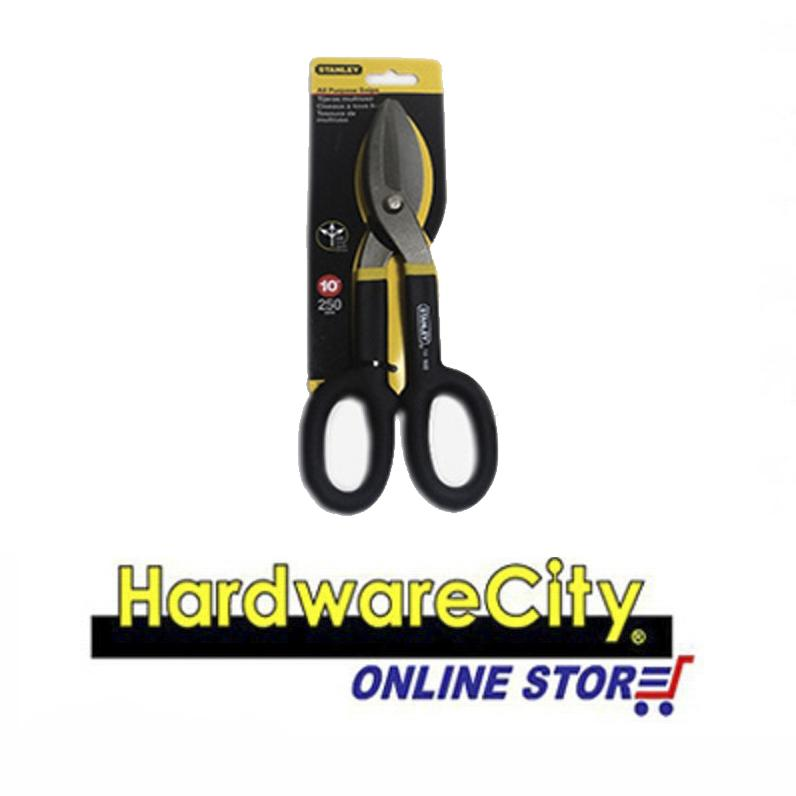 Stanley MaxSteel All Purpose Snips (Straight) - 10 inches [14-556]
