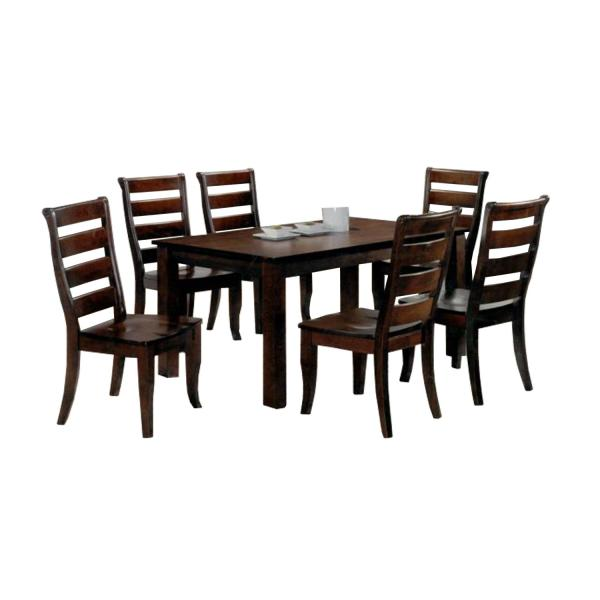 LIVING MALL_Bedford Dining Set (1+6)_FREE DELIVERY