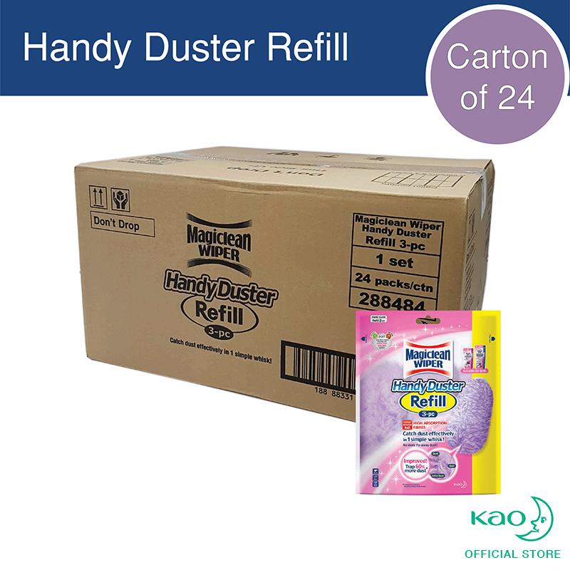 Magiclean Handy Duster Refill 3s (carton Of 24) By Kao.