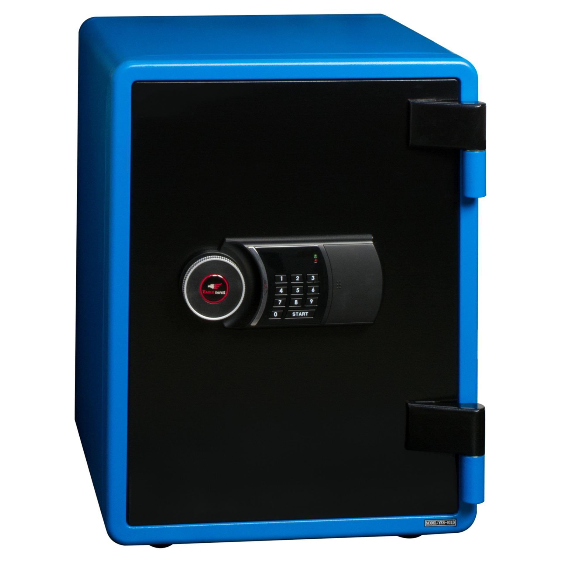 Eagle Safe Electronic Safes YES-031-D/Blue