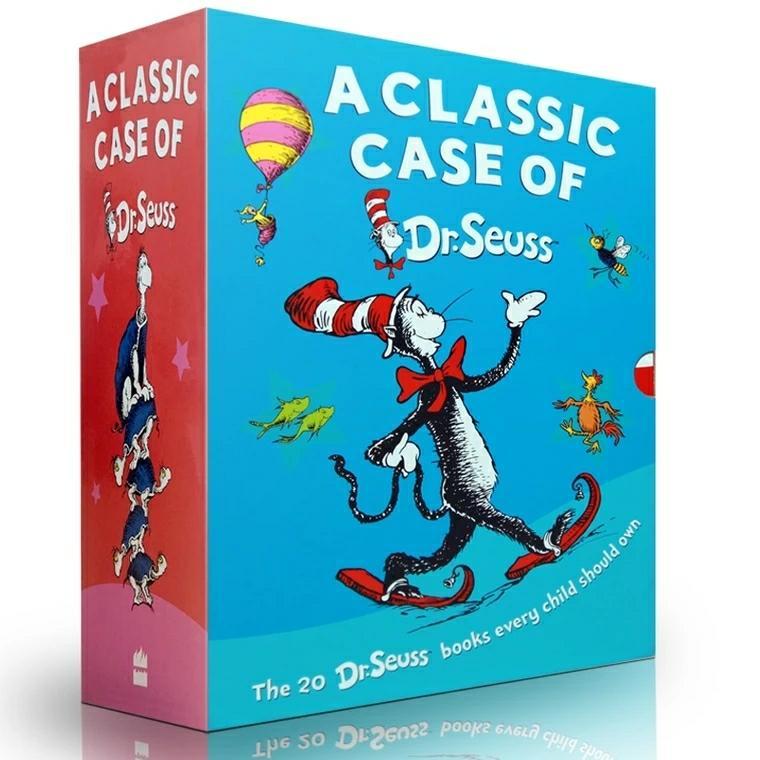 [Fast SG Shipping] A classic case of Dr. Seuss BoxSet  (20 books) c1