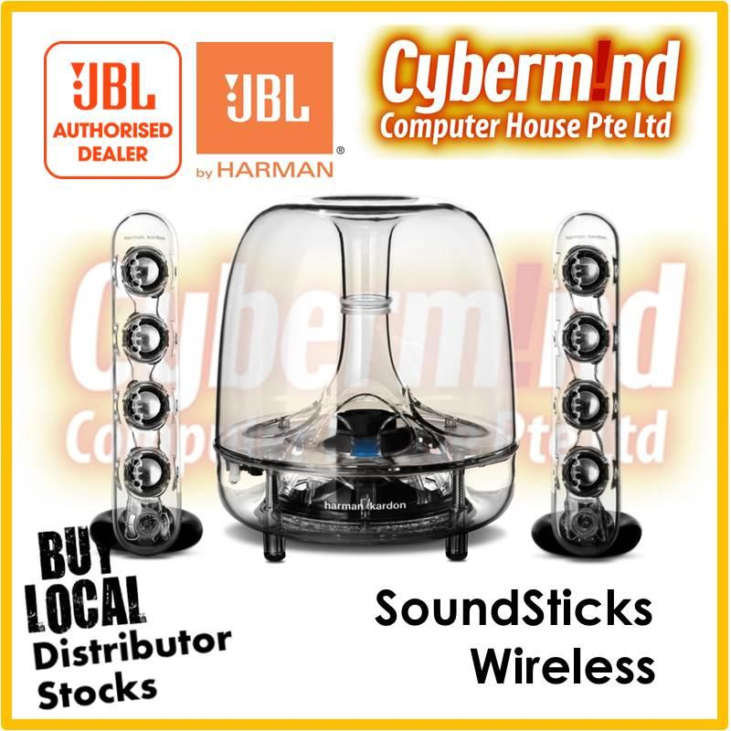 (JBL/HK Festival PROMO) Harman Kardon SoundStick Wireless Speaker (Local Distributor Stocks)