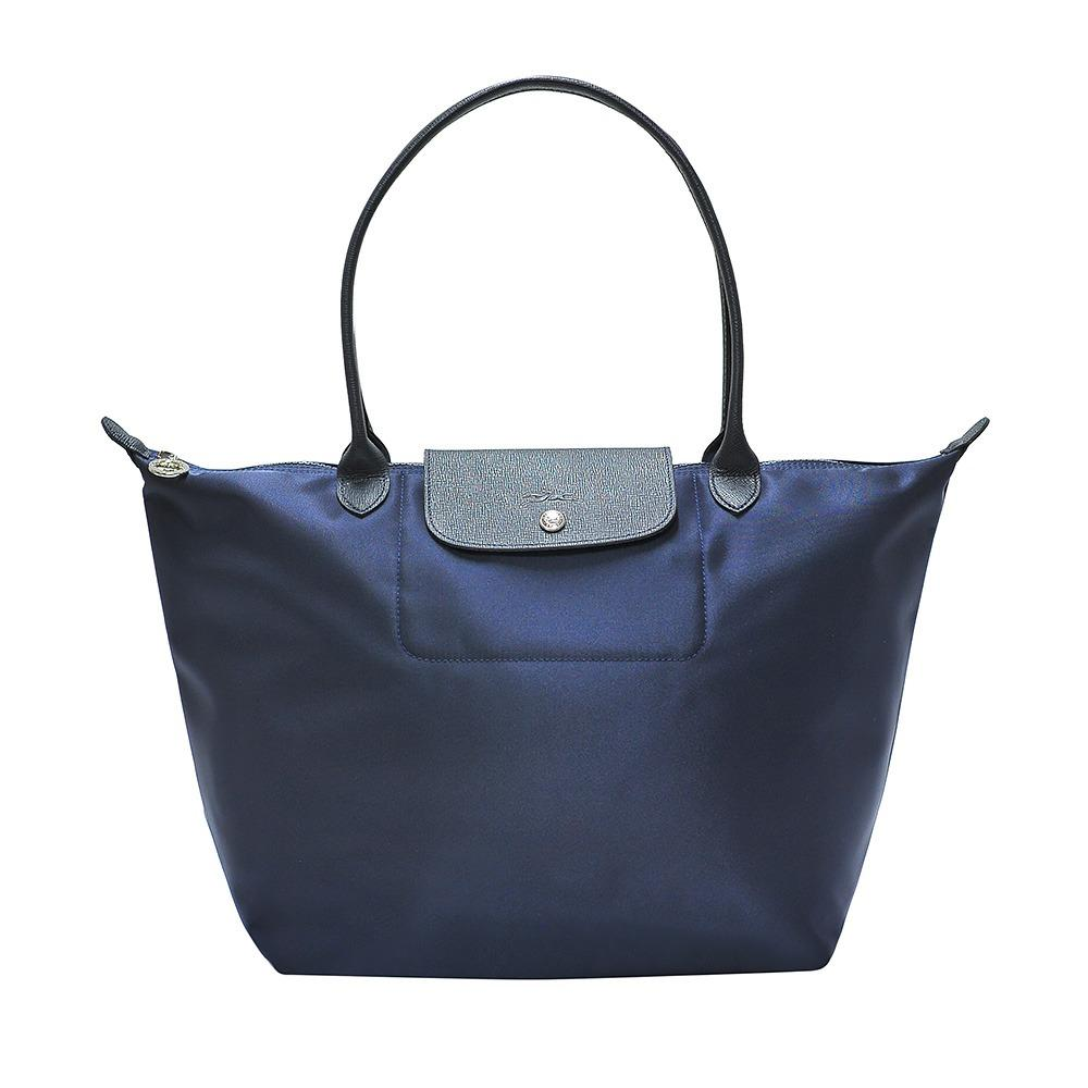 Lowest Price Longchamp Navy Le Pliage Neo Large Tote Colour Code 006