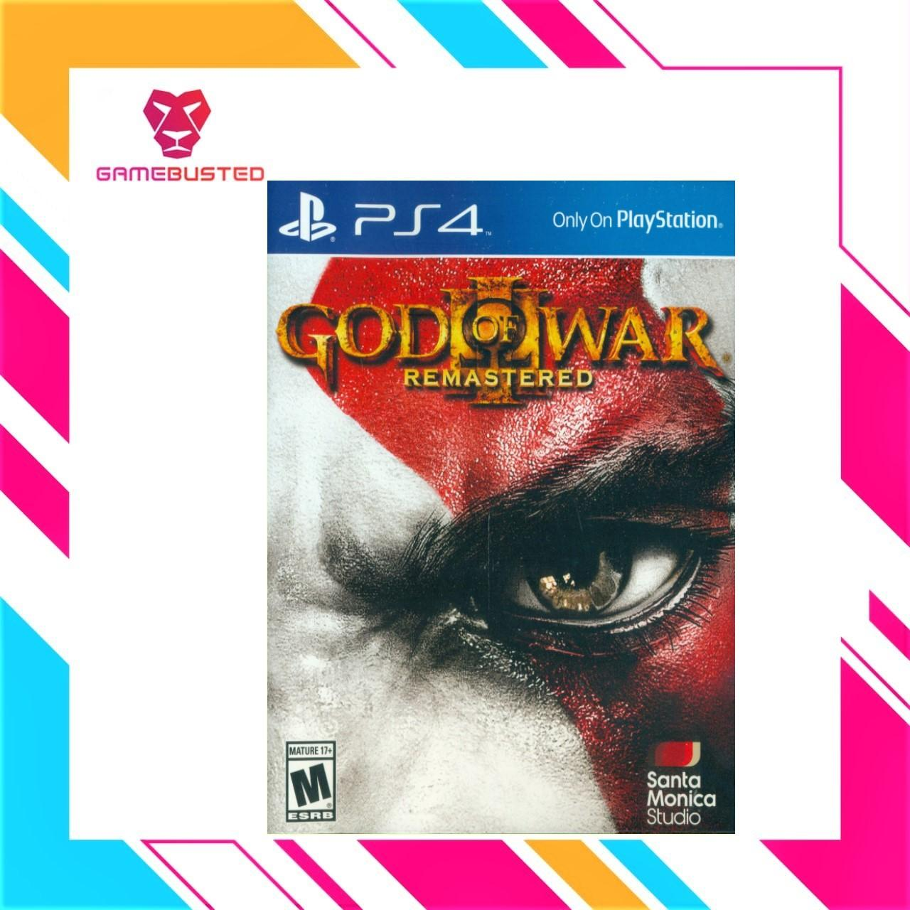 Buy Sell Cheapest Ps4 God Eater Best Quality Product Deals Sony 2 Rage Burst Reg 3 English Of War Remastered R1