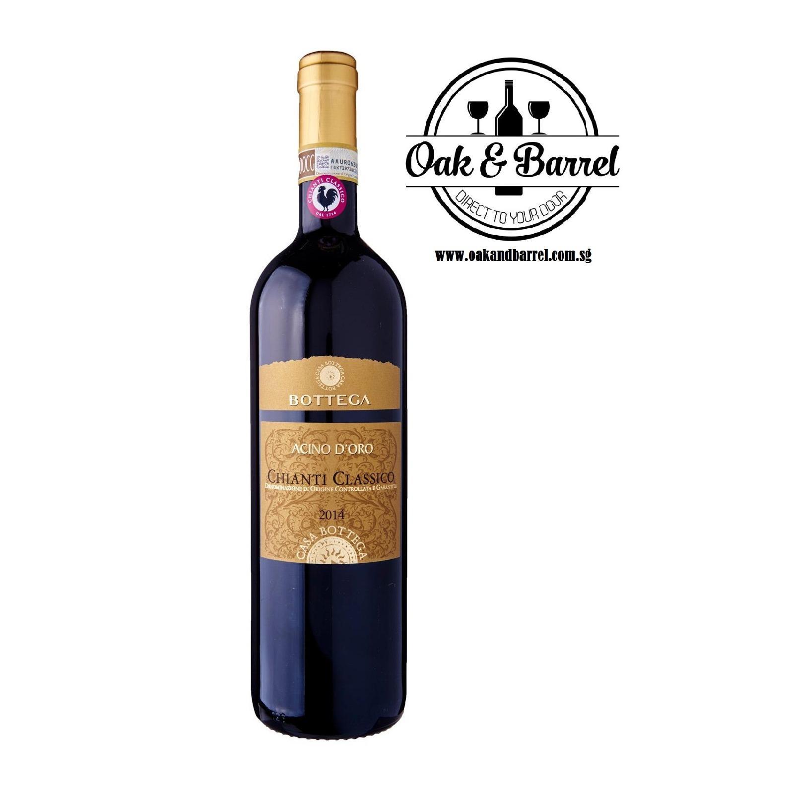 Best Bottega Acino D Oro Chianti Classico Docg 750Ml
