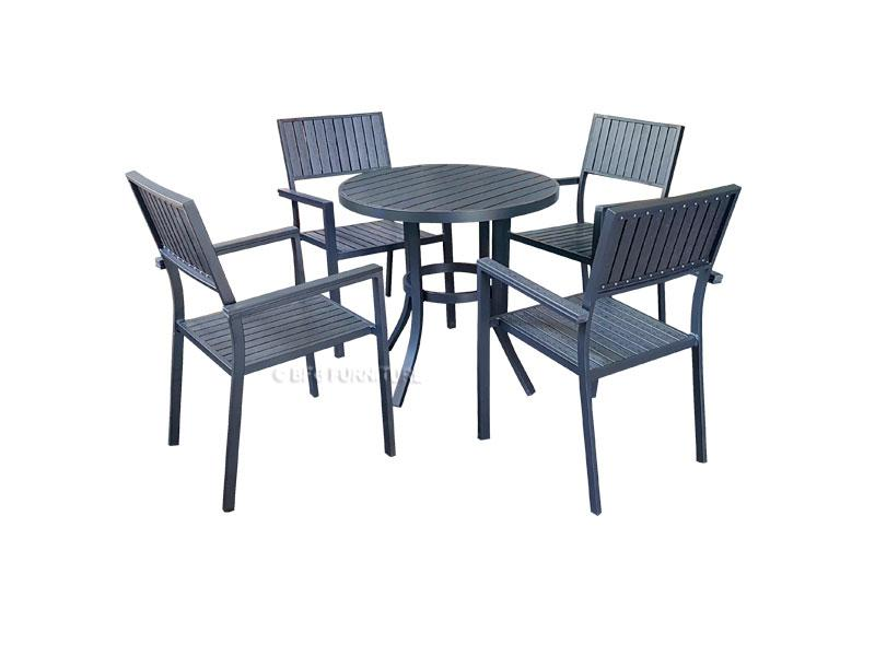 Finch 5 Piece Dining Set Outdoor/Indoor Furniture Chair Table