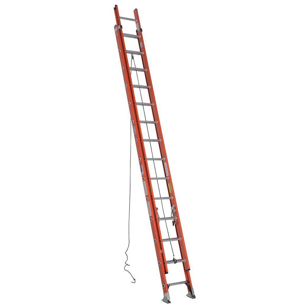 WERNER FG Double Extension Ladder 300LB D6228-2 28FT