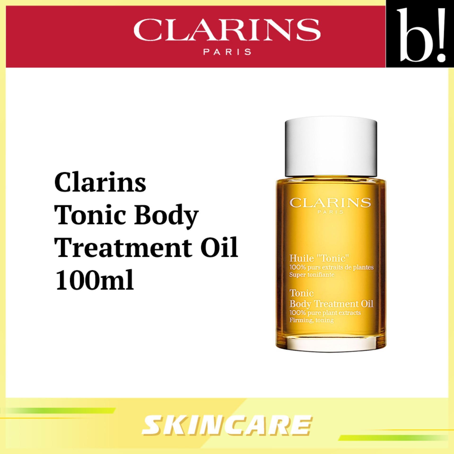 Clarins Tonic Body Treatment Oil 100ml - Beureka