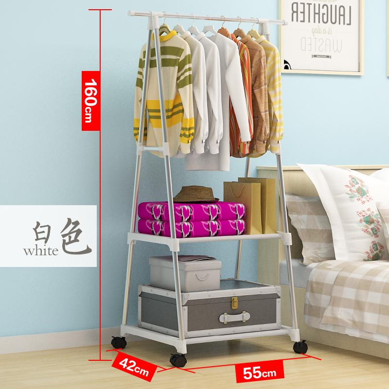 Indoor bedroom Hall storage simple hanger, clothes rack