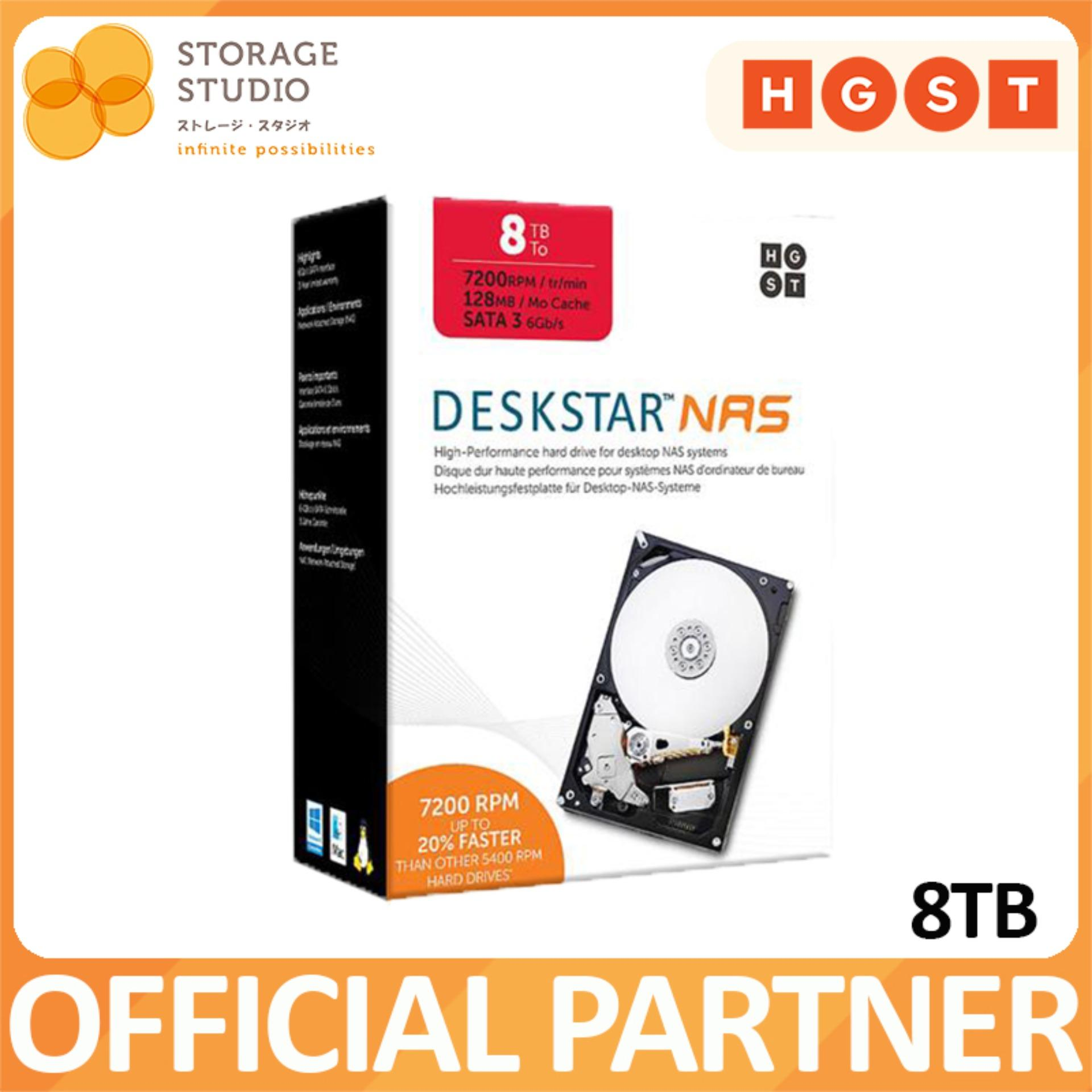 Compare Hgst Deskstar 8Tb Nas Hard Disk 8Tb Prices