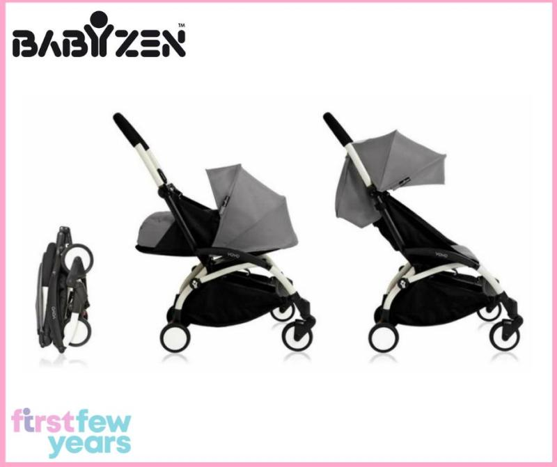 Babyzen Yoyo+ 0+ and 6+ Stroller (White Frame) Singapore