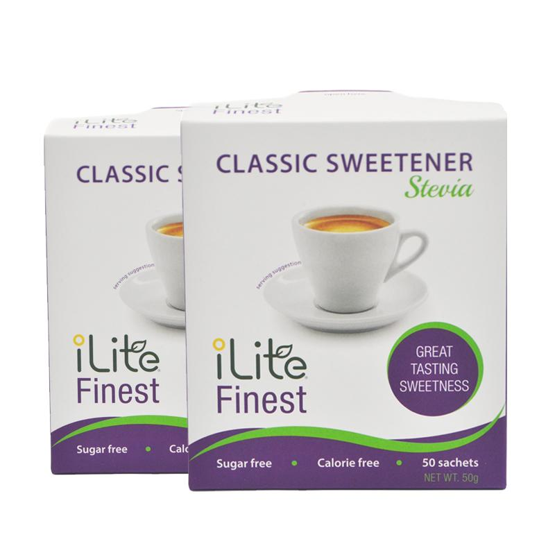 Best Deal Ilite Finest Classic Sweetener 50G 2 Boxes