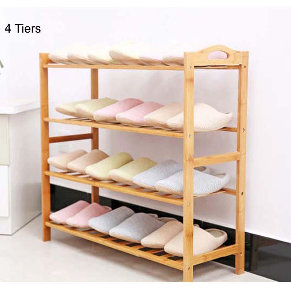 Price Bamboo Shoe Rack Minimalistic Series 80Cm Shoe Rack Shoe Cabinet Jiji Original