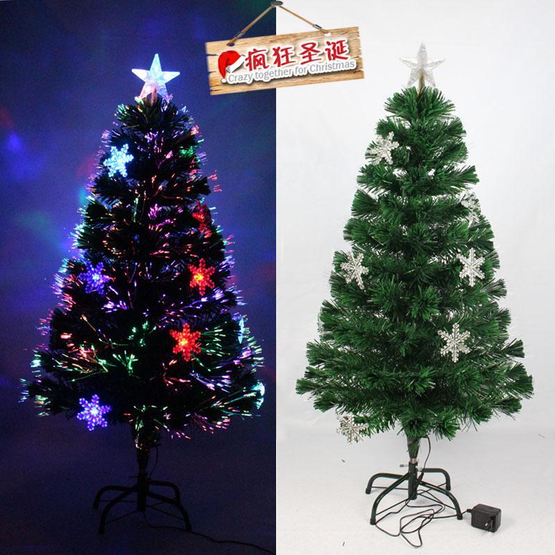 Optical Fiber Christmas Tree LED1 M 2 Snowflake Decorations Christmas Decorative Band Flashlight Light-emitting Christmas Tree