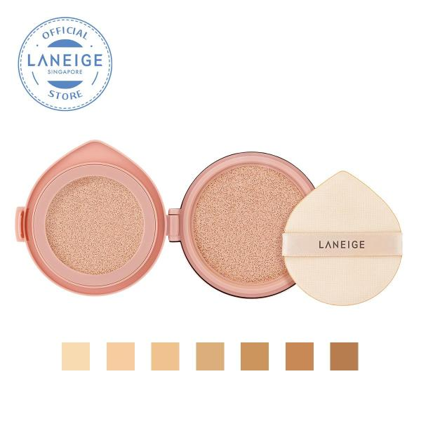 Buy [REFILL] LANEIGE Layering Cover Cushion 14g + 2.5g [Select from 7 Shades] Singapore