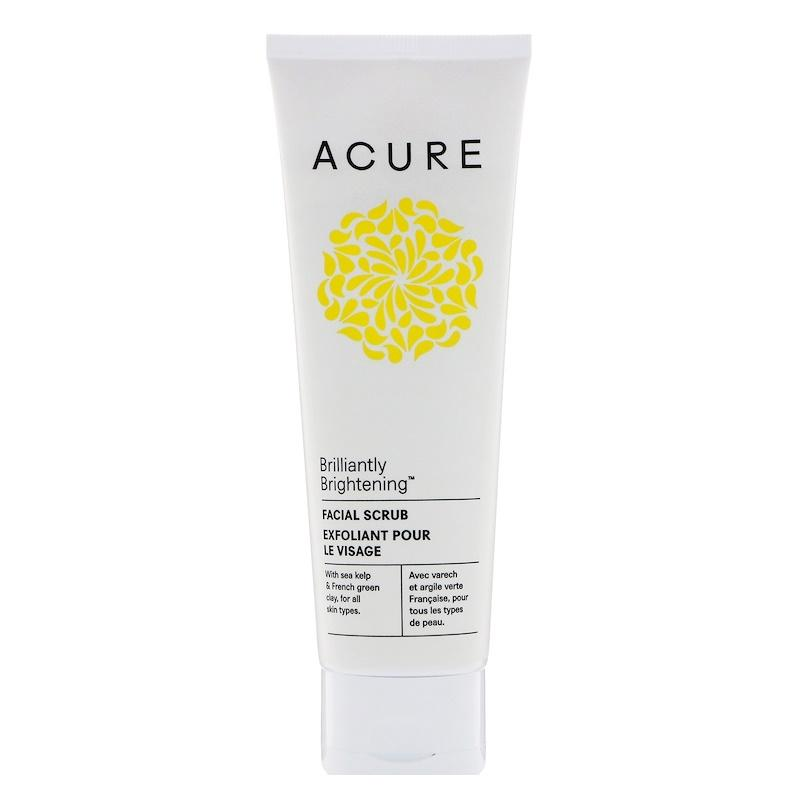 Acure Organics Brightening F*c**l Scrub 118 Ml On Line