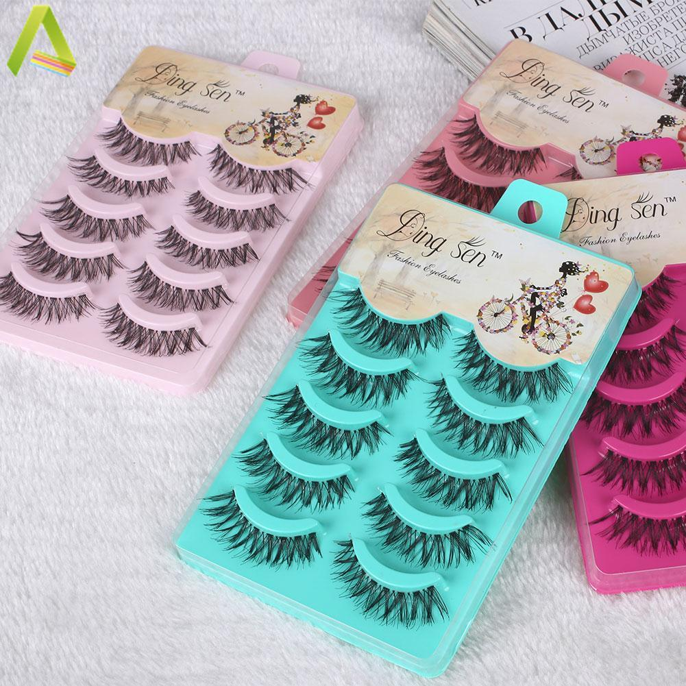 Natural Eye Lashes Extension Beauty Makeup Long Fake False Eyelashes Thick Soft - Intl By Aukey Store.